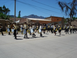 Banda del colegio Rodolfo Montaño