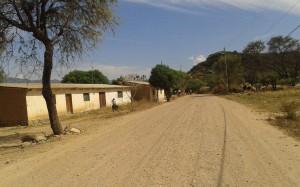 Paisaje campestre de la apasible comunidad de Playa Ancha