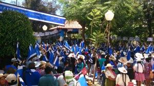 Numeroso cierre de campaña del MAS-IPSP, con gran presencia de mujeres